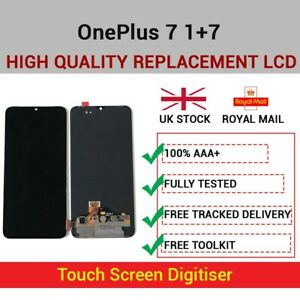 For OnePlus 7 1+7 Replacement LCD OLED Display Touch Screen Digitizer Assembly