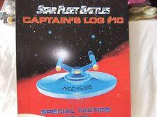 Task Force Game Books, Star Fleet Battles Captain's Log #10 1992, New Old Stock