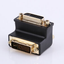 L Shape DVI 24+5 Male to Female 90 degree right angled VIDEO Converter Adapter