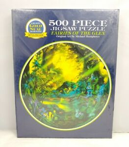 Fairies of the Glen Puzzle Jigsaw 500pc Michael Humphreys Gold Seal New Sealed