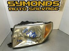 2003 MITSUBISHI PININ PASSENGER SIDE NEAR SIDE N/S LIGHT HEADLIGHT REF: F69