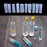 Liquid Silicone Mould Resin Pendant Jewelry Making Mold DIY Craft Tool DD