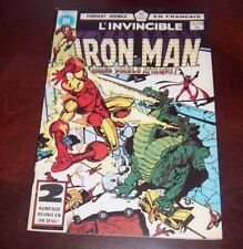 Editions Heritage Invincible Iron Man # 113/114 1983 French Edition Black White