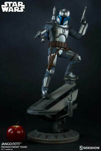 SIDESHOW Star Wars JANGO FETT PREMIUM Format Exclusive  453/750