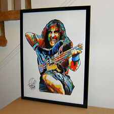 Steve Harris, Iron Maiden, Bassist, Bass Guitar, Heavy Metal, 18x24 POSTER w/COA