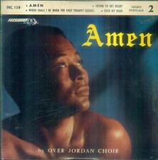 """7"""" Over Jordan Choir/Amen (Negro Spirituals 2) France"""