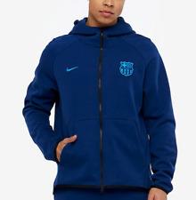 NIKE TECH FLEECE FC Barcelona FULL-ZIP MEN'S HOODIE Size M