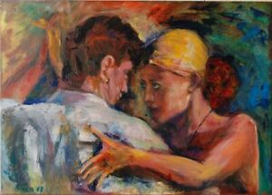 Tango, Öl auf Leinwand, 50 x 70 cm ungerahmt