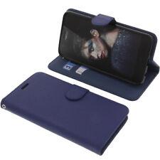 Custodia Per Tp-Link Neffos N1 Book-Style Protettiva Cellulare Libro Blu