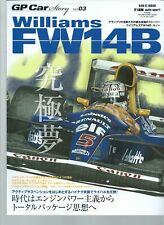 GP CAR STORY vol 03 - WILLIAMS FW 14B - SAN-EI MOOK