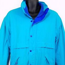 5b4151c3ad Nike Mens Fleece Lined Jacket Vintage 80s 90s Gray Tag Made In USA Size  Medium