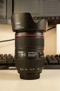 Canon EF 24-105mm f/4L IS Mark II (2) USM Lens EXCELLENT! 5D 6D 1D EOSR 7D