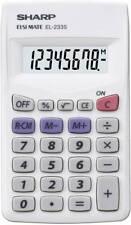Sharp Taschenrechner El-233 s Batteriebetrieb