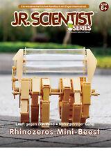 NEU DIY Rhinozeros Modell nach Theo Jansen  Windlaufmaschine mit Handbuch