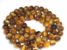 Tigerauge 6mm Perlen rund Schmuckperlen Edelstein 1 Strang