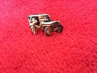 US ARMY JEEP HAT PIN