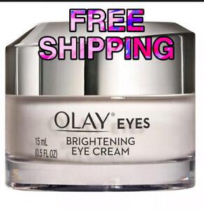OLAY VITAMIN C Brightening Eye Cream for Dark Circles, 0.5 fl oz. BRIGHT EYES.