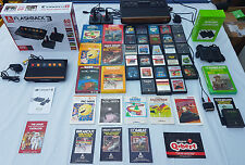 ATARI 2600 Heavy Wine sunnyvale PAL AV modificata 91 GIOCHI PLAY su qualsiasi TV!!!