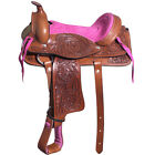 C-2-10 10 In Kids Youth Children Miniature Pony Saddle Leather Pleasure Western