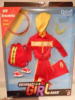 Barbie  GENERATION GIRL GEAR TORI Red Fashion 1999 NRFB