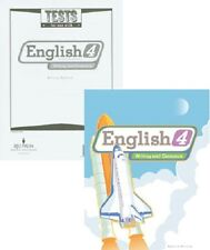 BJU Press - English 4 Student Worktext and Tests (updated 2nd ed)