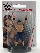 "WWE John Cena 3"" Inch Figurine New In Box Mattel World Wrestling Entertainment"