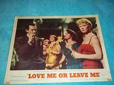 Love Me Or Leave Me Original Lobby Card  Doris Day 1955