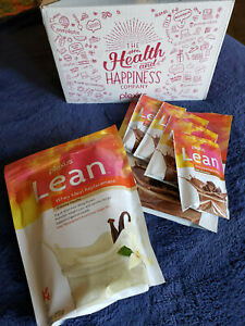 Plexus Lean Whey Meal Replacement Vanilla & Milk Chocolate Shake Mix 11/2020