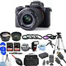 Sony Alpha a7 II Mirrorless Digital Camera W/ FE 28-70mm OSS Lens! MEGA KIT NEW!