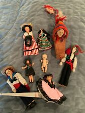 Vintage Mixed Lot Miniature Dolls and Other (8 items)