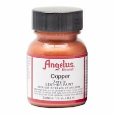 Angelus Acrylic Leather Paint Water Resistant  Copper  - 1 Fl.OZ