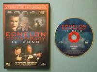 DVD Film Ita Thriller ECHELON CONSPIRACY Il Dono martin sheen ex nolo no vhs(T6)