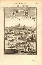 PERSIA (IRAN). View of Isfahan 'Hispahan'. Iran ???????. MALLET 1683 old print