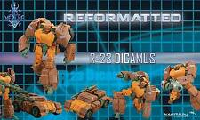 MMC Reformatted R-23 DICAMUS aka Transformers Roadbuster In-Stock US Retailer