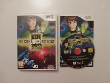 Nintendo Wii Ben 10 Alien Force Vilgax Attacks jeu complet ~ GRATUIT P + P