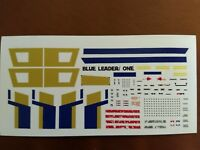 1/72 rogue one blue leader decals for bandai x wing