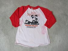 VINTAGE Pryor Vs Arguello Boxing Shirt Adult Large Caesars Boxer Raglan 1983 Men