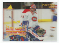 1995-96 McDonald's Pinnacle #McD25 Patrick Roy Montreal Canadiens