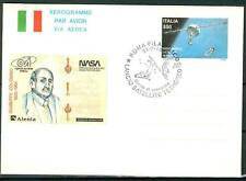 ITALIA REP. - Aerogrammi - 1992 - SATELLITE TETHERED - Ann. spec. Roma