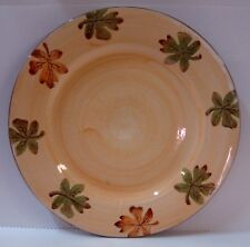 Pottery Barn HARVEST Dinner Plate AUTUMN LEAF DESIGN More Items are Available