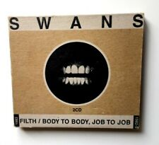 Swans - Filth / Body to Body, Job to Job, 2 x CD, YG11, ***Rare***