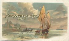 Norddeutscher Lloyd Bremen Postcard – udb (pre 1908)