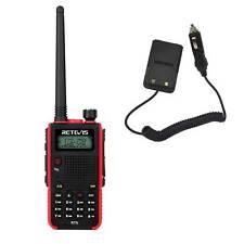UHF 128CH 2-Way Radio/&Battery Eliminator 1800mAh WalkieTalkie Retevis RT5 VHF