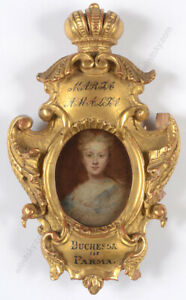 "G. Laurent ""Duchess Maria Amalia of Parma, née Archduchess of Austria"", ca.1780"