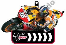 MotoGP 26 Dani Pedrosa Repsol Honda Team Rubber Key Ring Fob car bike house gift