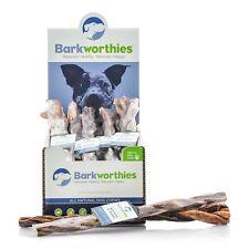 "Barkworthies Braided Beef Gullet Dog Treat 12"""