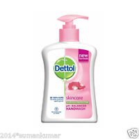 Dettol pH-balanced Handwash 99.9% germ-free Skincare protection 200 ml