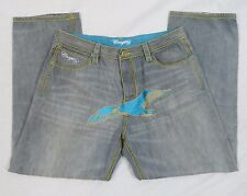 COOGI Jeans Embroidered Eagle & Pockets Baggy Loose Fit Size 40 x 34