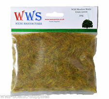 WWS WILD Meadow 12mm statico erba 20g packet. i modelli, ferrovie, DIORAMA. RB
