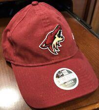 sports shoes 6fbf8 18469 New Phoenix Arizona Coyotes New Era NHL Women s Preferred Pick 9TWENTY Cap